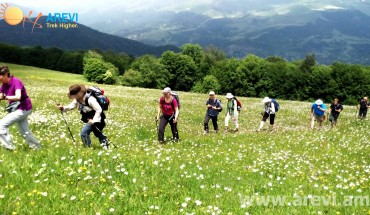 Hiking tour in Armenia