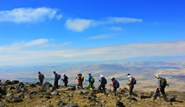 Trekking expedition to the Summit of Biblical Mount Ararat 5165m